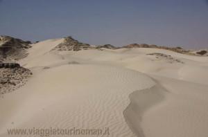 Dune bianche di al Khaluf, Oman
