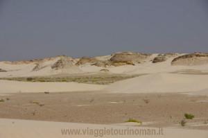 Dune bianche Al Khaluf, Oman