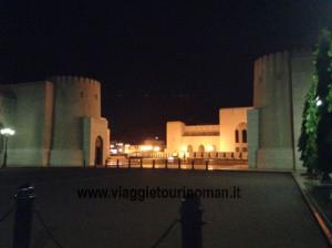 Muscat, Oman. Foto del Palazzo del Sultano