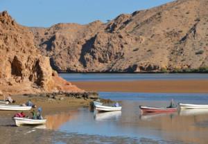 Wadi Tiwi in Oman.