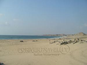 Viaggi in Oman, foto della costa del Dhofar, sud del sultanato.