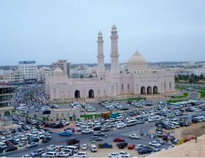 Viaggi in Oman: Salalah, foto della Moschea.