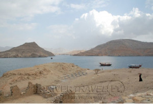 Telegraph Island, in Oman