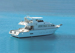 charter Yacht in Oman