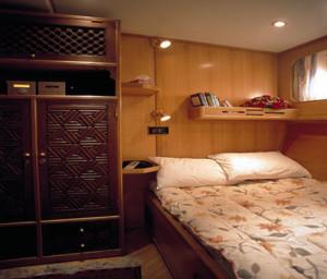Foto yacht per crociera in Oman, una cabina.
