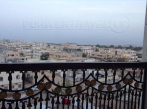 Panorama del centro di Salalah, capitale del dhofar nell' Oman meridionale