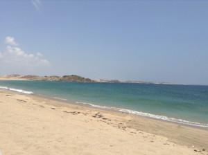 vacanza e soggiorno mare in Oman, foto del mare.a Salalah.