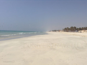 Viaggi in Oman, foto del lungomare di Salalah, capitale del Dhofar.