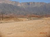 Viaggio in Oman, foto lungo la via dell' Incenso prima di entrare nel Rub al Khali, parte del deserto Empty Quarter, nel Dhofar.