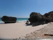 Foto mare del Dhofar, Oman del sud, lungo la via dell' incenso, dintorni di Salalah,D.B.