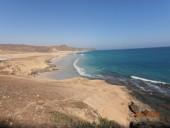 Foto mare del Dhofar, Oman del sud, lungo la via dell' incenso, dintorni di Salalah. D.B.
