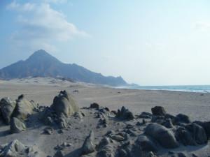 Foto del mar Arabico, Oceano Indiano, tra Salalah e Shuwaymiyyah