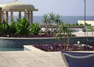 Vacanze mare presso l' Hotel Marriott Salalah Oman, foto dell' Oceano Indiano, qui chiamato Mar Arabico di fronte all' Hotel