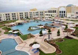 Vacanze mare presso l' Hotel Marriott Salalah Oman, foto di una ala dell' Hotel