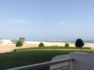 Vacanze mare presso l' Hotel Marriott Salalah Oman, foto di un lato Hotel
