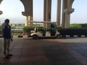 Vacanze mare presso l' Hotel Marriott Salalah Oman, foto di un ingresso dell' Hotel