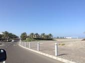 Vacanza mare Oman, hotel Millennium vicino a Muscat. Foto del'ingresso.