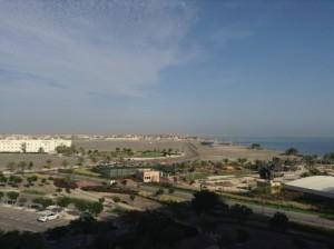 Soggiorno mare Oman, hotel Millennium Muscat. Foto del mare.